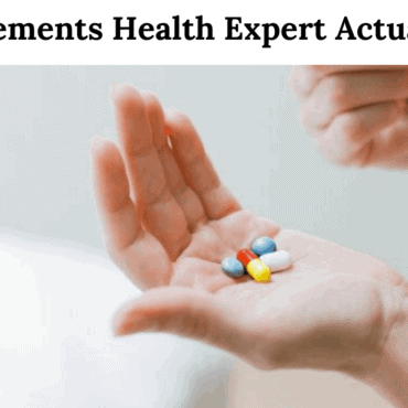 5 supplements health expert actually use
