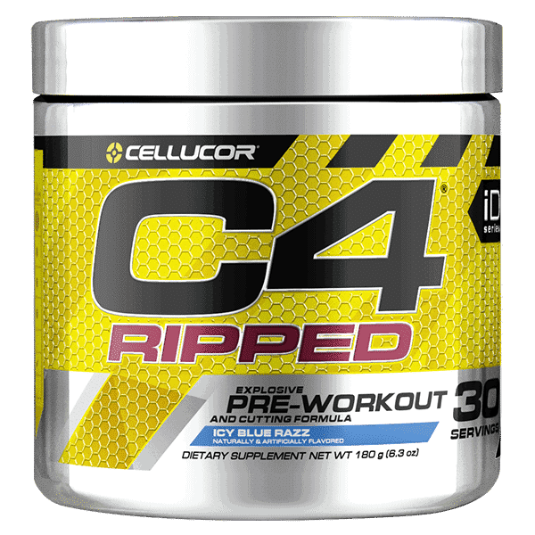 Cellucor iDSeries C4 Ripped 30Serve IcyBlueRazz 1 | Supplement Store BodyTech
