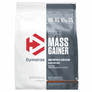 Dymatize Super Mass Gainer 12lb Rich Chocolate
