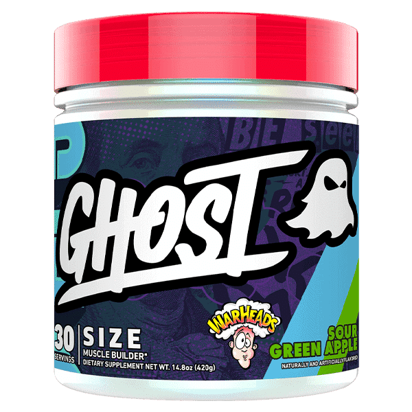 Ghost Size 30serve SourGreenApple 1   Supplement Store BodyTech