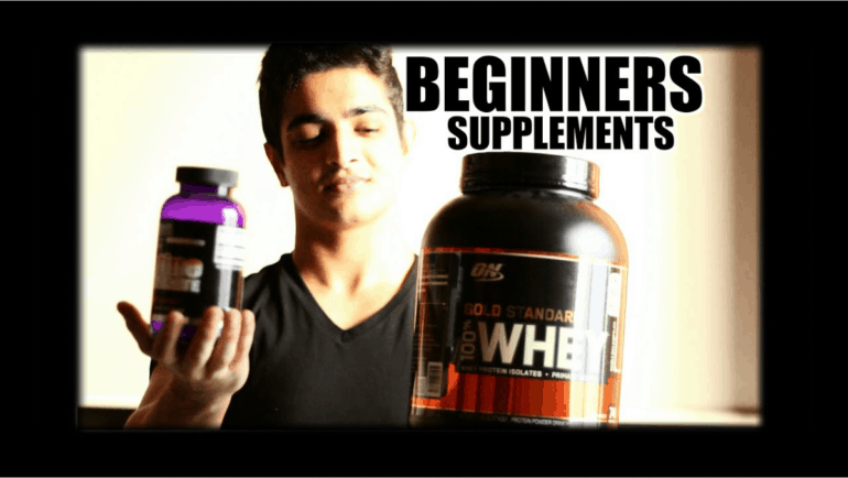 Top 4 Beginner Supplements for Beginners