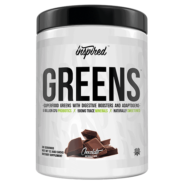 Inspired Greens 30Serve Chocolate 1 | Supplement Store BodyTech