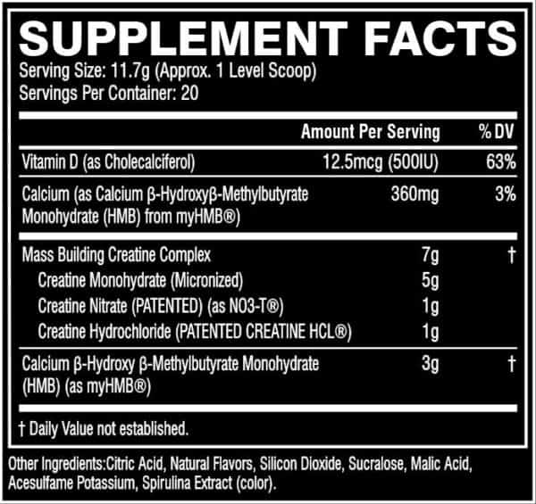 M5 Ultimate BR20 Flat 1   Supplement Store BodyTech