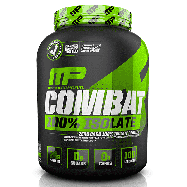 Musclepharm SportSeries Combat100Isolate 5lb Chocolate 1 | Supplement Store BodyTech