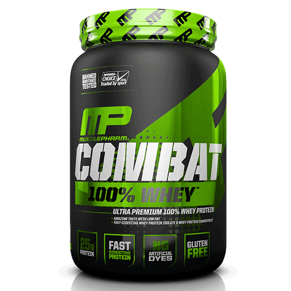 Musclepharm SportSeries Combat100Whey 2lb Chocolate 1   Supplement Store BodyTech