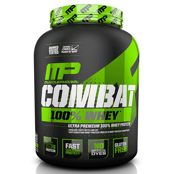 Musclepharm SportSeries Combat100Whey 5lb Chocolate 1   Supplement Store BodyTech