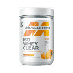 MuscleTech Iso Whey Clear Orange Dreamsicle