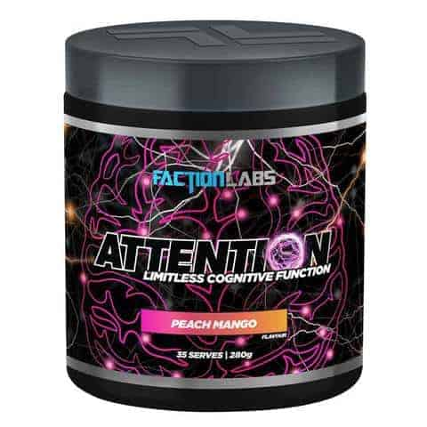 faction labs attention 35serves peachmango large 1   Supplement Store BodyTech